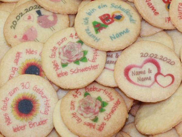 300 Kekse mit einem unserer Kekselmotive